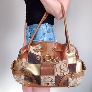 Vintage Sophia Caperelli Patchwork Purse Handbag